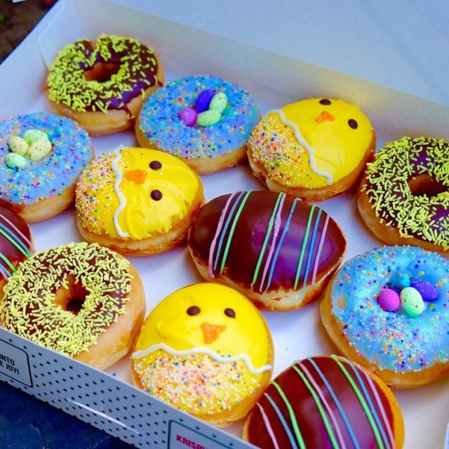 The limited edition krispykremeza Easter selection is out and boyhellip