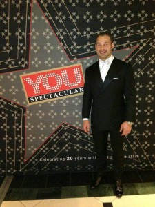 Francois Hougaard rocking a suit and tie at the You Spectacular! - Image from 4Elements