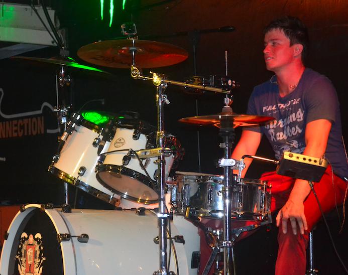 Skylight Band: Brad, Drummer.