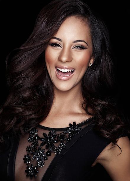 Former Miss SA 2012, Marilyn Ramos.