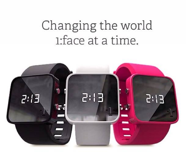 Changing the world: 1:Face Watches bring hope with style