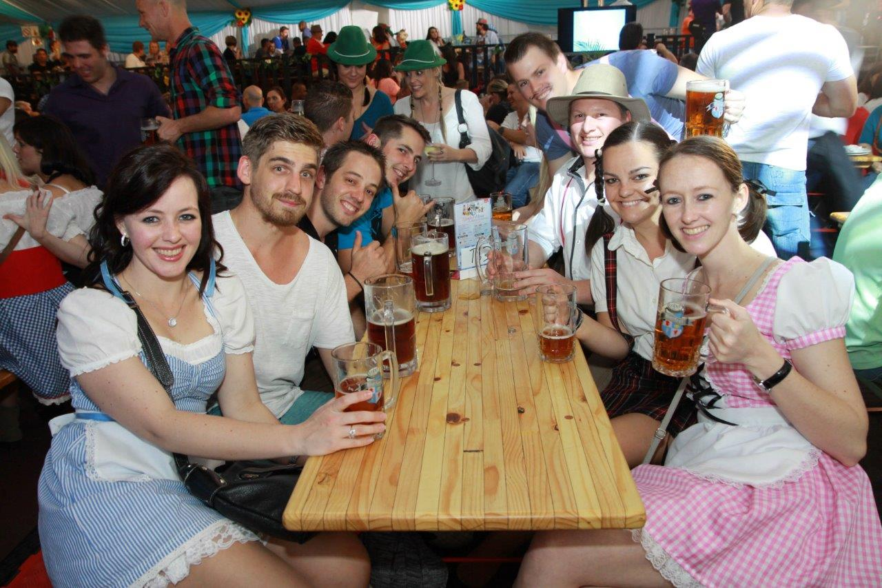 Guest at Bierfest