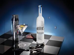 Belvedere Vodka.