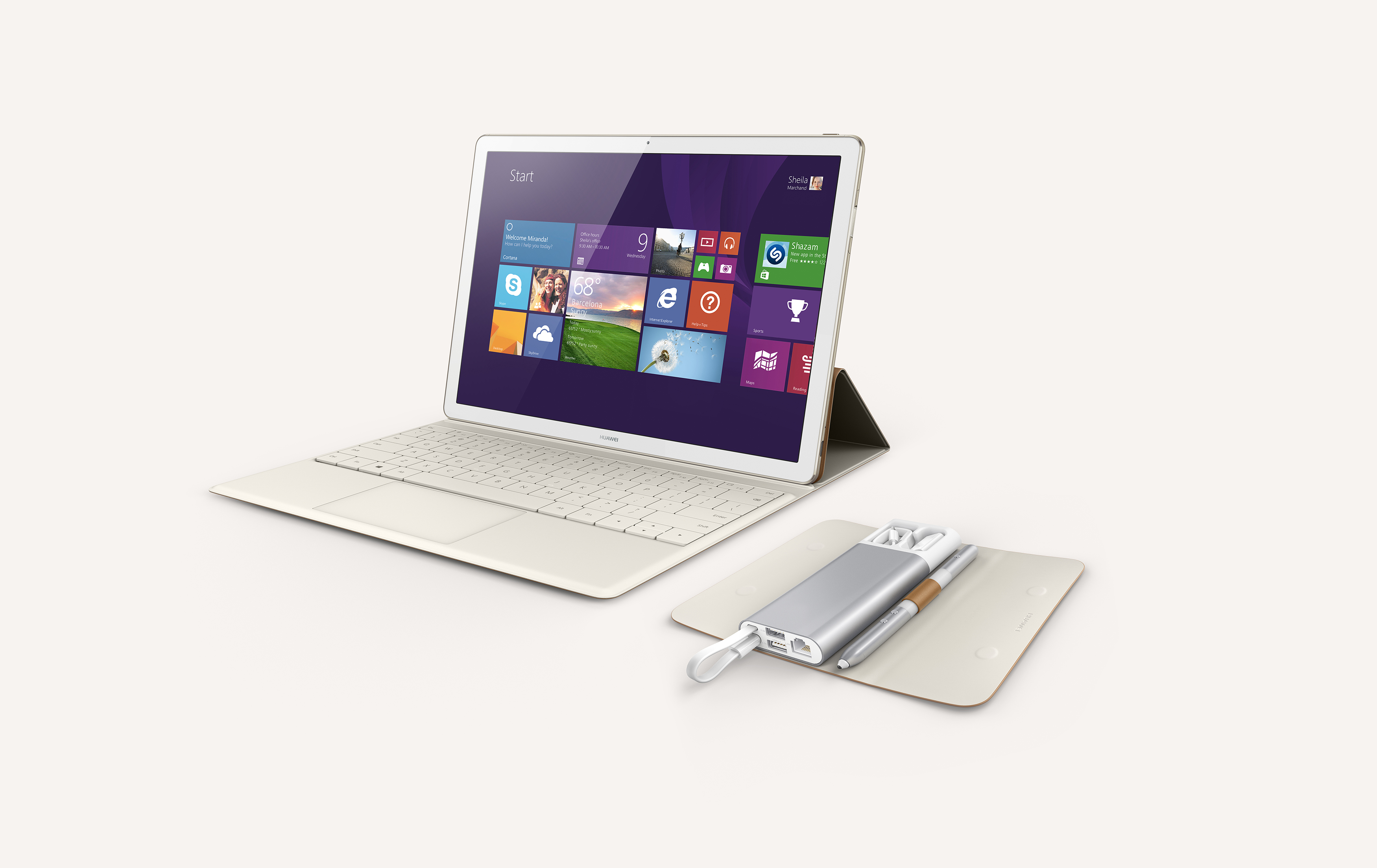Huawei MateBook with Dock