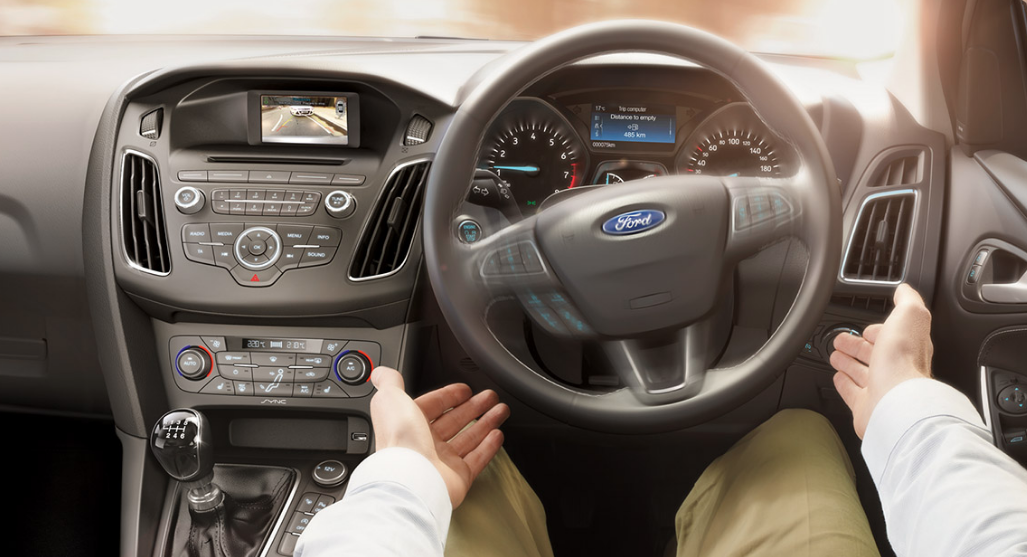 The Ford Focus has everything in one place! it's amazing because whatever you need to control the car is right in front of your eyes, which means less fuss - less distraction!