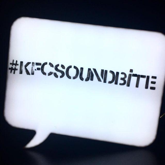 Were at the KFCSoundBite listening session tonight KFCSouthAfrica