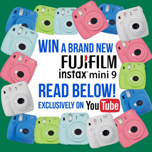 instaxsa and GoTrend are giving away the BRAND NEW Fujifilmhellip