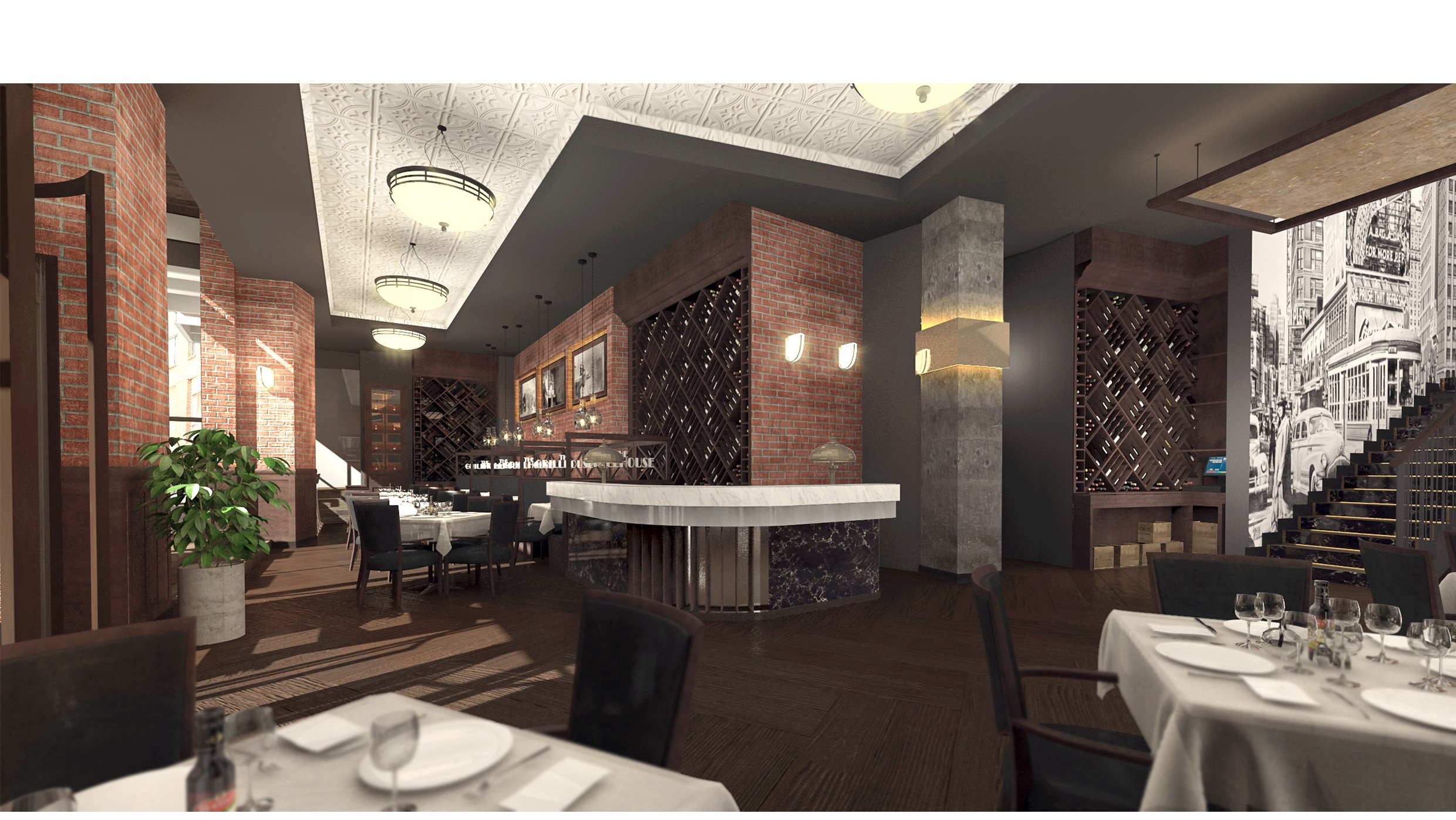 Melrose Arch The Grillhouse artist's impression2